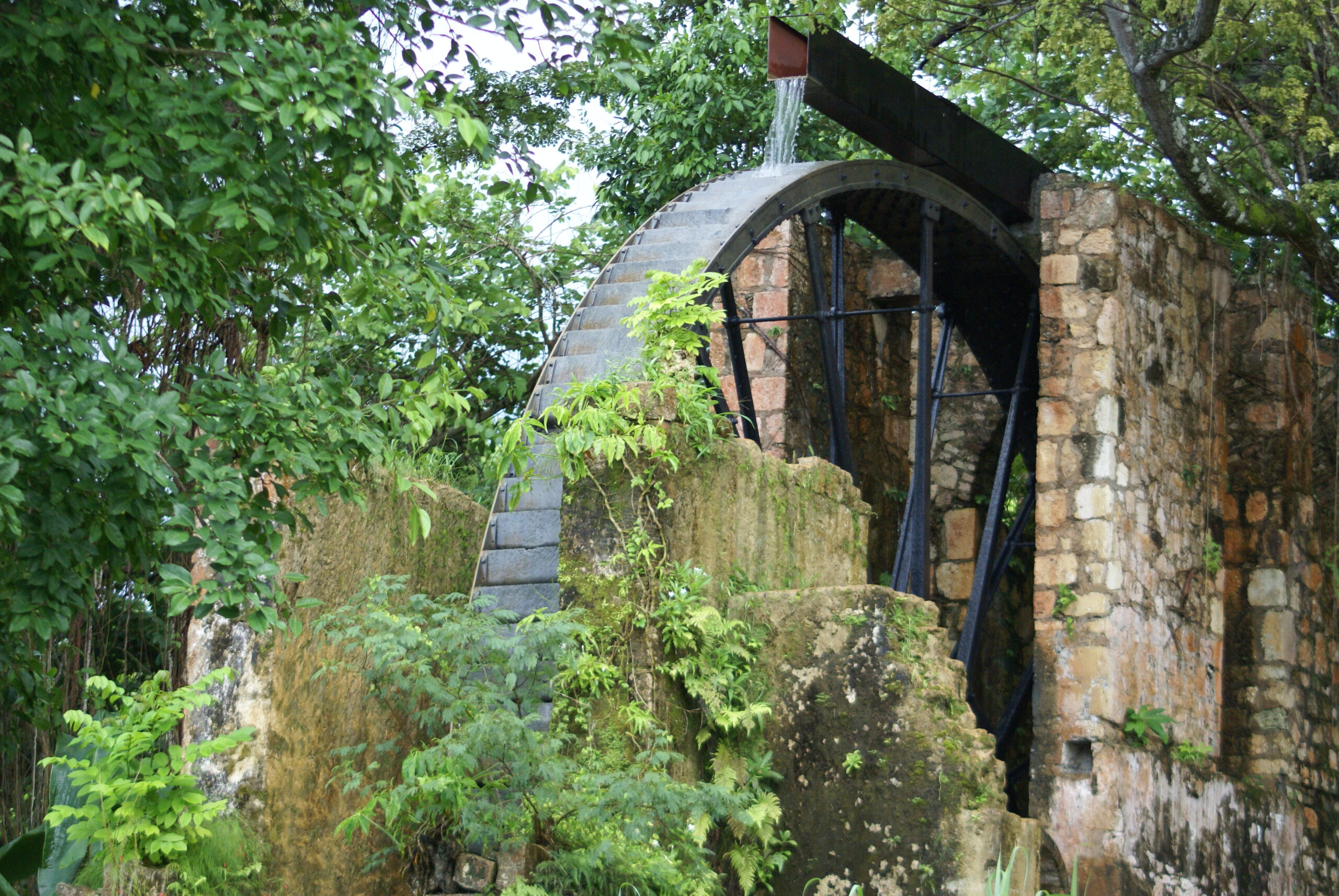 Jamaican Water Mill